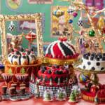ヒルトン東京、アリスとクリスマス・オーナメント達が催すKawaiiお茶会「アリスの気まぐれクリスマス・ティーパーティー」開催