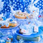 古城の国のアリスで冬のスイーツビュッフェ開催!青薔薇ジュレやブルーのケーキなど雪と氷をイメージした世界観
