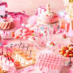 ピンクのGirlyスイーツでまるで気分はプリンセス!「マリー・アントワネットの仮面舞踏会~PINK ver.~」開催