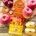酸味と甘味の絶妙なバランス!ピュレグミはちみつりんご新発売