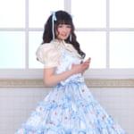 童話のお姫様や桜の花をイメージしたロリータ風ドレスが多数♡ 伊藤芽衣ちゃんが着る「Hiroko Tokumine ロリータウエディング」のプリンセスドレス♡