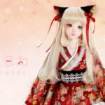『和服日和』大人気の美少女ドール「Alice01」が、和装ロリィタ衣装と限定メイクアップで登場!#和ロリ #Alice01