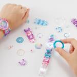 オリジナルの腕時計が作れる「MixWatch」からクリア素材の春夏モデルが登場!