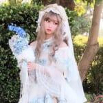 日本からSELENちゃんが参加♡日中オンラインファッションショー
