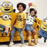 H&Mキッズから、人気キャラクターの「ミニオン」とコラボレーション。店頭やSNS投稿でもらえるプレゼントキャンペーンも