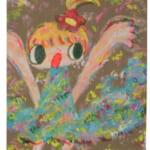 注目アーティストのロッカクアヤコ。原画作品を、7月24日正午12時より販売開始!~海外コレクターからの支持も高い代表的な少女モチーフ作品~