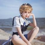 中国から长寇ちゃんが参加♡日中オンラインファッションショー