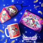 ハローキティとYOSHIKIのコラボレーションキャラクター:yoshikittyの新デザイン「yoshikitty翼シリーズ」発売!