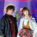 声優の佐藤拓也&福山沙織が原宿ファッション姿で登場♪アニメ「神巫詞-KAMIUTA-」プロジェクト、いよいよ本格始動!