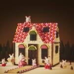 明治×シルバニアファミリー 初コラボ! 「赤い屋根のお家」をチョコで徹底再現&レシピ公開