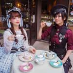 「ロリータちゃんのカフェめぐりvol.1 〜表参道・ドルチェマリリッサ〜」深澤翠&AKIRAがBABYとPIRATESの新作でおでかけ♡