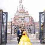 ディズニー映画『美女と野獣』の物語の世界に入り込んだようなウェディングフォト ディズニーアンバサダー®ホテルに新登場