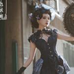 """日本でも注目される中国ロリータの先駆け「古典玩偶」""""艶やかな美しい""""お洋服に引き込まれそう"""