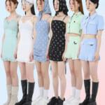 90年代レトロなスタイルが韓国で話題席巻中!IZONEらも愛用のアパレルブランド「UGLY SHADOW」(アグリーシャドウ)が日本初上陸。60%(シックスティーパーセント)への出店を開始。