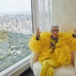 H&M、ファッションアイコンのアイリス・アプフェル生誕100周年を記念したコラボレーションを発表。